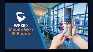 Sneak Peek into the WP800 Mobile WiFi IP Phone  Credit : GrandstreamAPAC