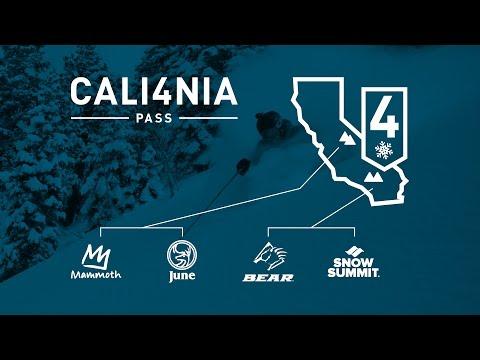 Cali4nia Pass 2017-2018