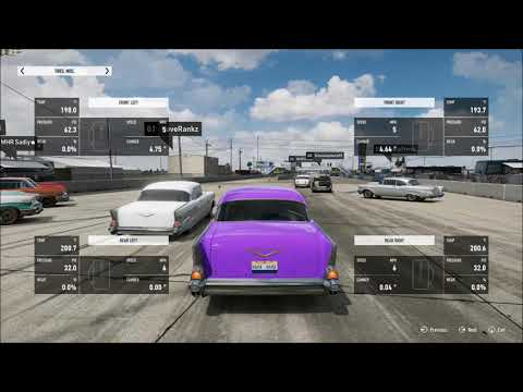 KING OF THE HILL #6 FORZA 7 NO PREP DRAG RACING BEL AIR