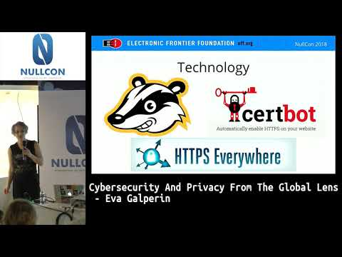 Cybersecurity & Privacy From The Global Lens | Eva Galperin