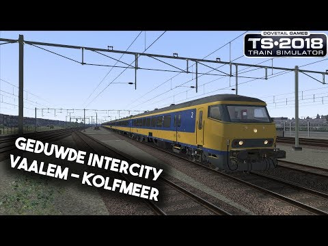 Train Simulator 2018 Geduwde Intercity Vaalem  Kolfmeer  Sound update