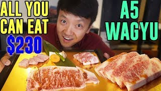 FINEST All You Can Eat WAGYU BEEF in Tokyo Japan: Matsusaka Beef width=