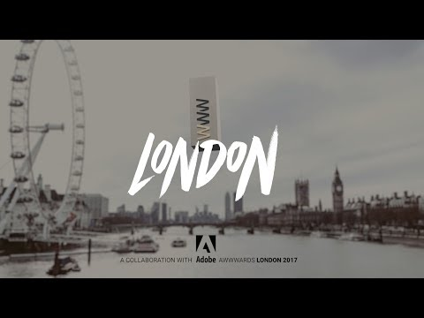 Awwwards Conference & Prize-giving - London 2017