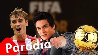 """Eu, Messi, Neymar e ela - Paródia Griezmann """"Eu, você, o mar e ela"""" (Luan Santana)"""