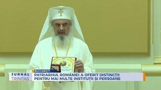 Patriarhul Romaniei a oferit distinctii pentru mai multe institutii si persoane