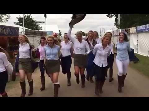 Dubarry Girls Burghley Horse Trials 2015