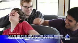 Fuga de gas provoca retrasos de los autobuses escolares