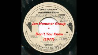 Jan Hammer Group ‎– Don't You Know (1977)