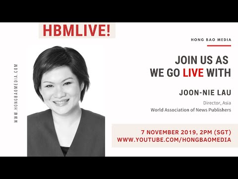 HBM LIVE: Interview with Joon-Nie Lau, Director of WAN-IFRA (Asia), at Mumbrella360 Asia