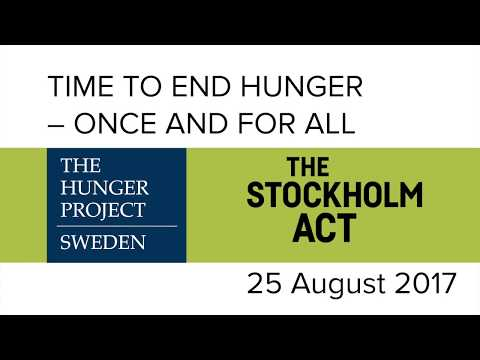Time to End Hunger – Once and For All
