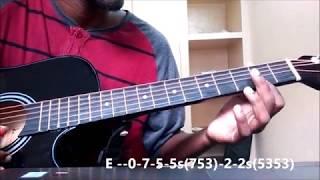 Inkem Inkem Inkem Kaavaale - Geetha Govindam | Guitar Tabs