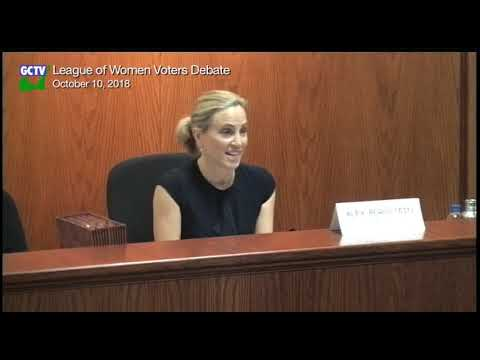 League of Women Voters Debates, October 10,2018