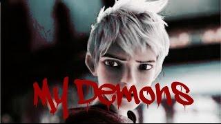 My Demons: Evil Jack Frost(Jelsa)ft. Anna & Pitch black