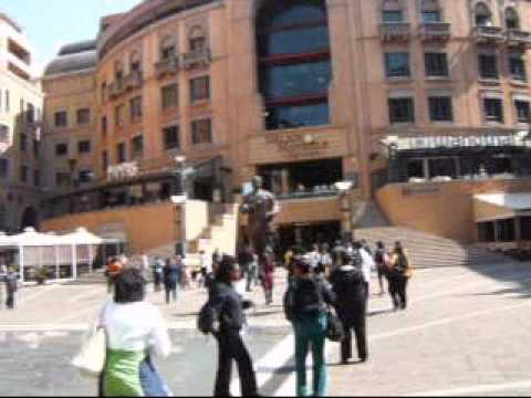 South Africa 2012: First Stop… Nelson Mandela Square