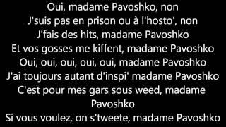 Black M - Mme Pavoshko (Lyrics - Paroles)