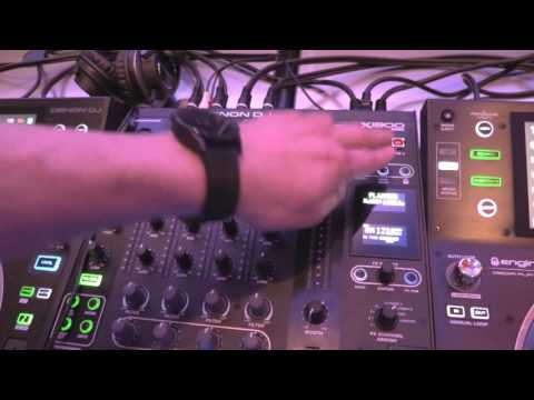 NAMM 2017 - I DJ Now - Henry with Ben from Denon featuring the X1800 Prime