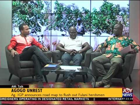 Agogo unrest - AM Talk on Joy News  (5-2-16)