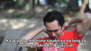 "OUTTAKES of the video for ""Wag ka nang magtampo"""