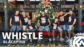 WHISTLE by Blackpink | Zumba | KPop | TML Crew Alan Olamit