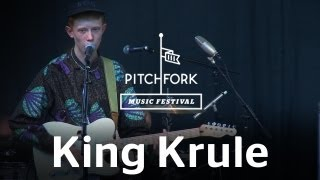 """King Krule performs """"Portrait in Black and Blue"""" at Pitchfork Music Festival 2012"""