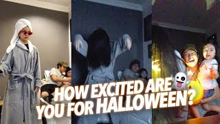 How Excited Are You For Halloween? (Hilarious) | Ranz and Niana