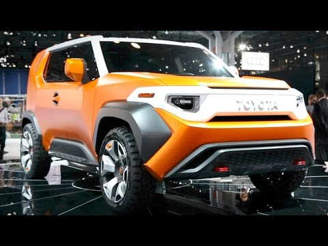 Toyota FT-4X Concept - 2017 New York Auto Show