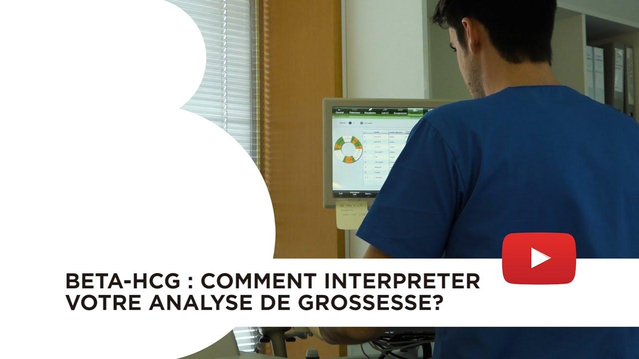 Beta-hCG : Comment interpréter votre analyse de grossesse?