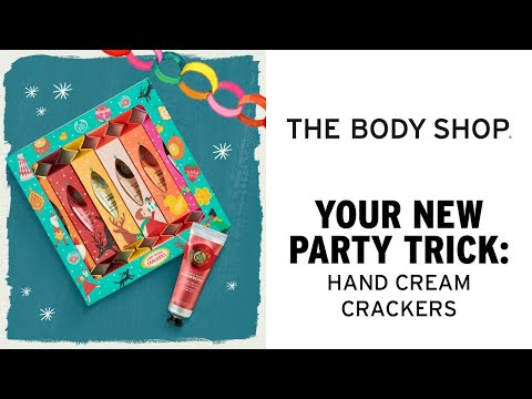 Your New Party Trick: Hand Cream Crackers – The Body Shop