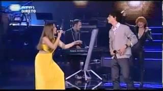 Amor Electro ft.Bianca Adrião & Salvador Seixas - Rosa Sangue    Voice Of Portugal