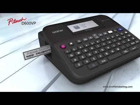PT-D600VP labelprinter