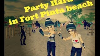 Starstable online - Party hard in Fort Pinta beach