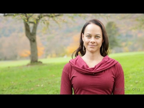 Larissa Hall Carlson at Kripalu: Nadi Shodhana Pranayama