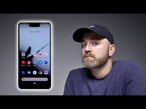 This is the Google Pixel 3 XL