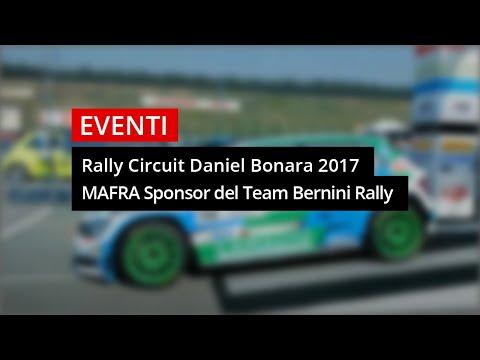 Rally Circuit Daniel Bonara sponsor del Team Bernini