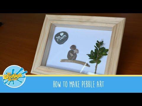How to make Pebble Art #MakeItMonday