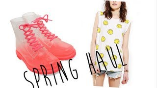 heartsandhauls – Spring Haul (Topshop, Zara, Urban Outfitters, and more!)