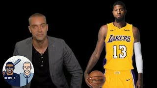 After leaked script, David Jacoby makes his own Lakers pitch for Paul George | Jalen & Jacoby | ESPN