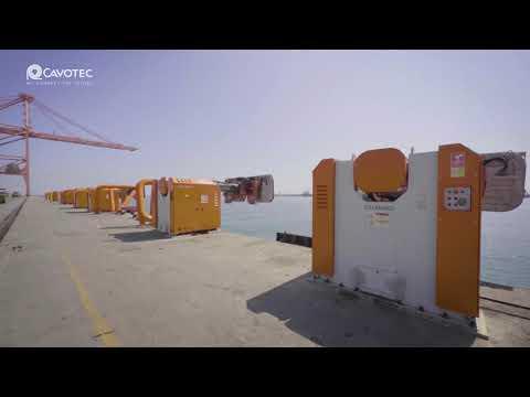 MoorMaster™ automated mooring at Port of Salalah container terminal