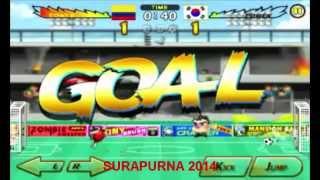 "Head Soccer ""Columbia"" Power Shot AMAZING! [38]"