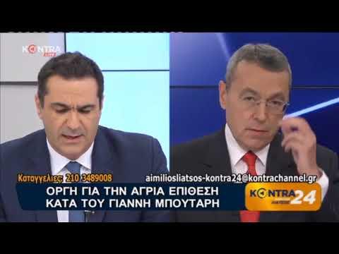 Τ.Διαμαντόπουλος / ''Κόντρα 24'', Kontra Channel / 21-5-2018