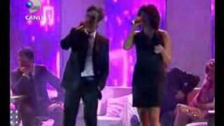 irem candar - teoman - dus - beyaz show - 8 subat 2008