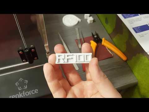 Renkforce Fr100 3D Drucker HD ★ Erster Test und Fazit