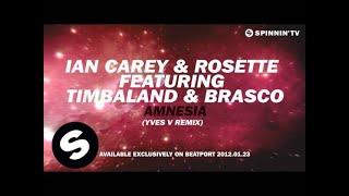 Ian Carey & Rosette feat. Timbaland & Brasco - Amnesia (Yves V Remix) [Teaser]