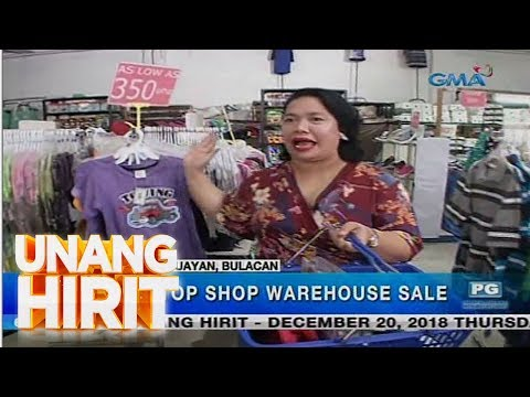 Unang Hirit: Silipin: One-stop shop warehouse sale sa Meycauayan, Bulacan