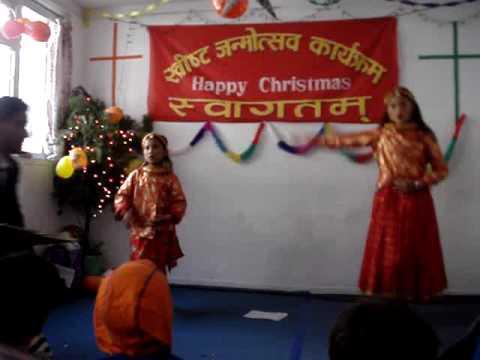 Grace Church of Nepal- Dancing1.MPG