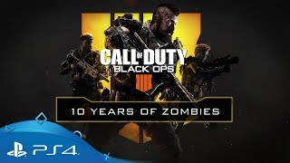 Call of Duty: Black Ops 4 | 10 Years of Zombies | PS4