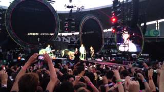 "Temper Trap - ""Love Lost"" (Live at Coldplay, Sydney 18th November 2012)"