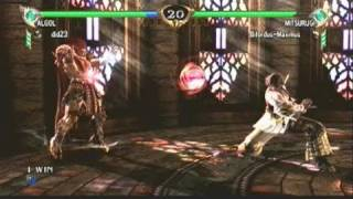 Soul Calibur 4 - Pong