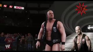 STONE COLD STEVE AUSTIN ENTRANCE WWE 2K18 (WITH 2001 TITANTRON AND GLASS SHATTERED THEME )