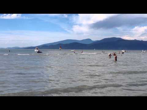 Wreck Beach Vancouver BC Canada  Canada Day 2014